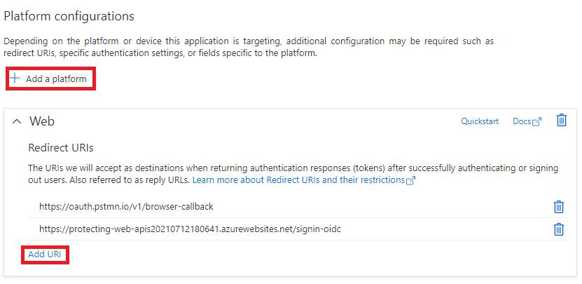 Platform Configurations